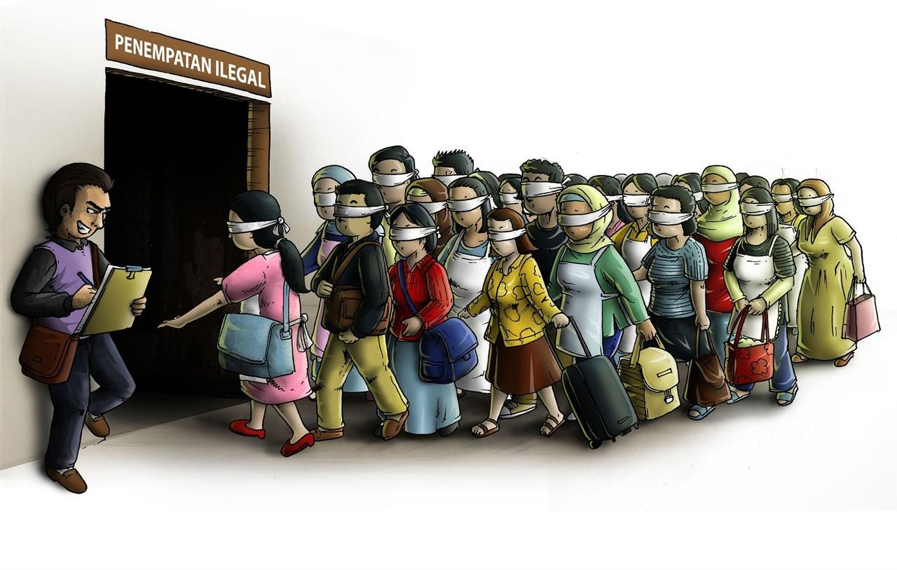 1993년부터 시행된 기술 인턴 교육 프로그램은 본 취지와 달리 일본 내 고령화로 인한 노동자 부족 문제를 해결하기 위한 수단으로 활용되고, 이로 인한 다수의 노동권 및 인권 침해 사건이 보고되고 있다.