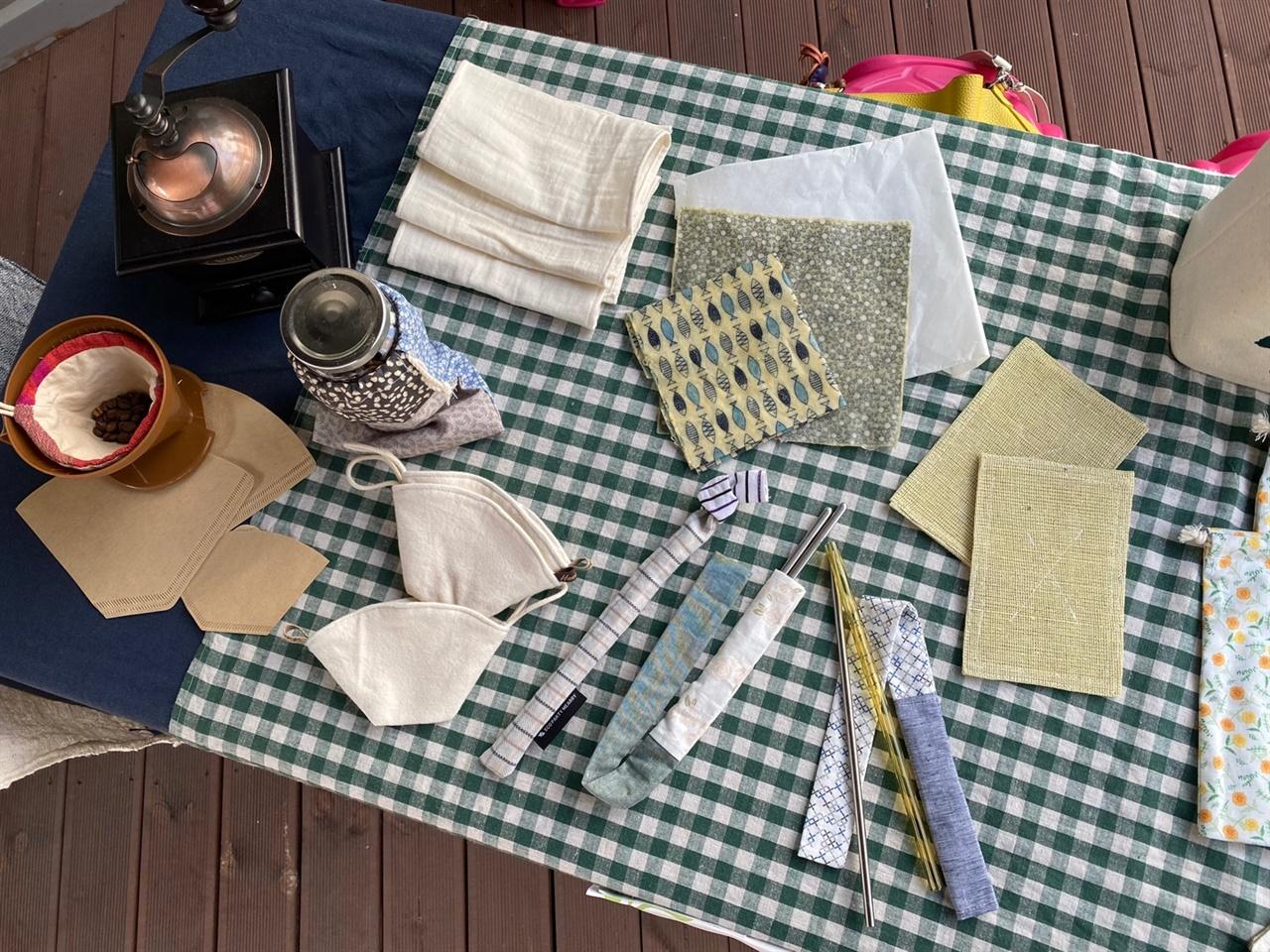 '봄봄'이 소개한 대안생활용품 친환경 소재를 사용한 제품