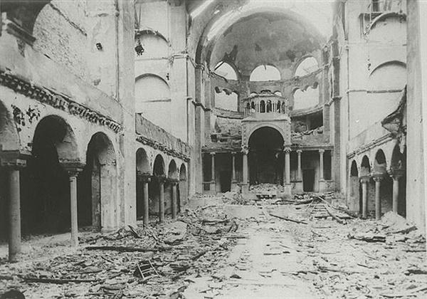 '수정의 밤'이라고 불린, 유대인 '박해'의 현장