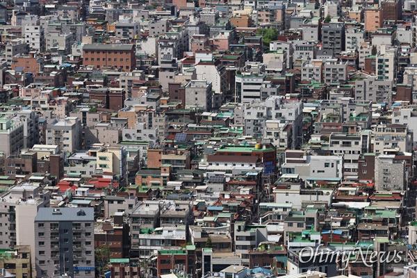 서울 강북지역 주택가.