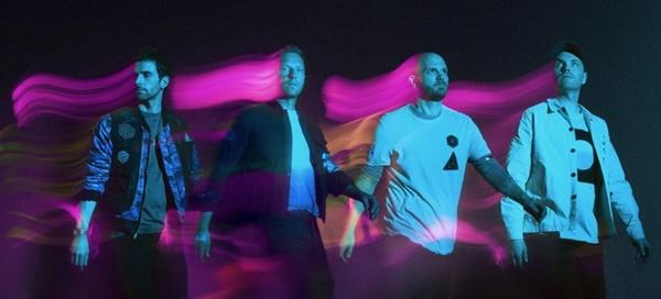 신곡 'Higher Power'를 발표한 밴드 콜드플레이(Coldplay)