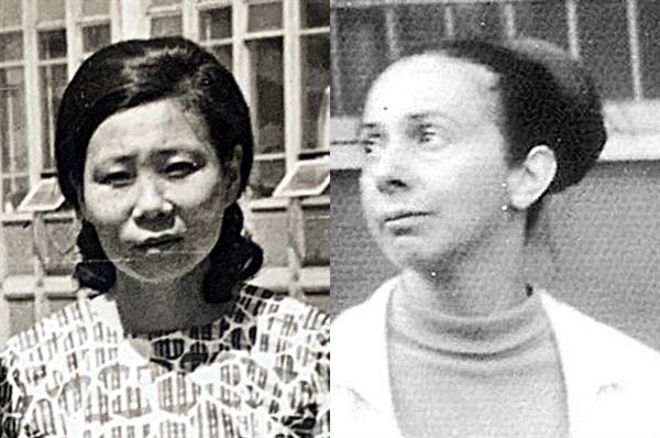 젊은 시절 정양숙(왼쪽)과 콜렛 누아르