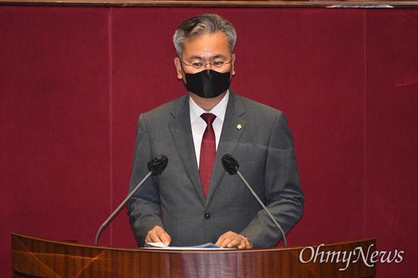 국민의힘 유상범 의원(자료사진). 사진은 지난 5월 21일 오전 서울 여의도 국회에서 열린 본회의에서 의사진행발언을 하는 모습.