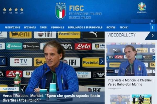 로베르토 만치니  이탈리아가 만치니 감독 선임 후 A매치 26경기 연속 무패를 달리고 있다.