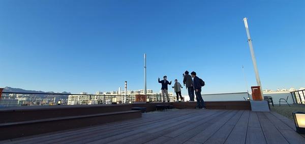 안암생활 옥상 전경
