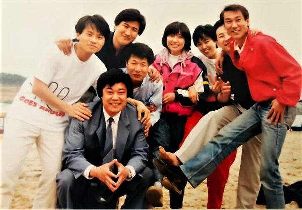 1990년 한국영화기획실 모임 야유회