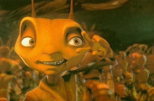 <개미> 영화의 한 장면