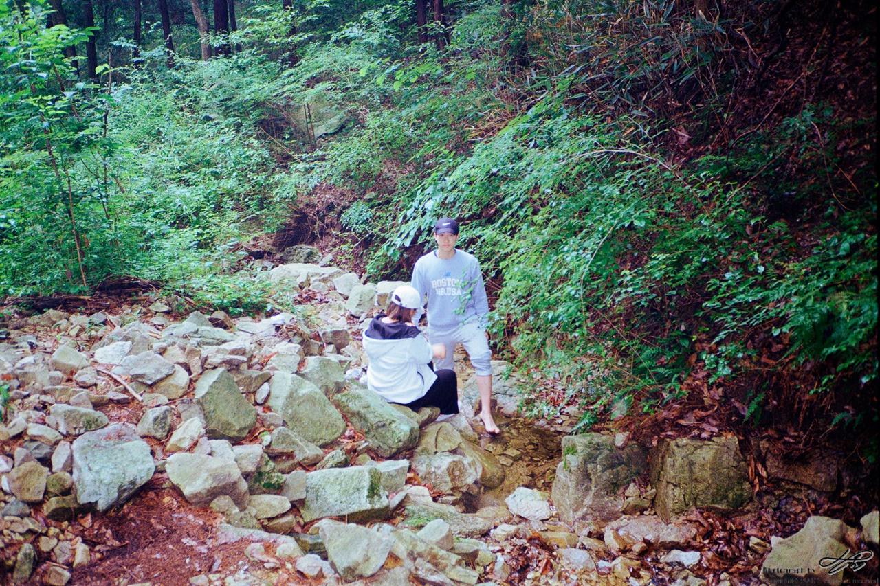 작은 계곡 (ProImage100) 산책 후 잠시 들른 계곡