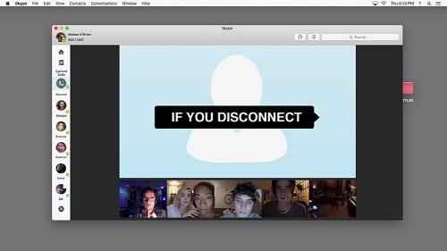 <언프렌디드: 다크 웹> 영화의 한 장면