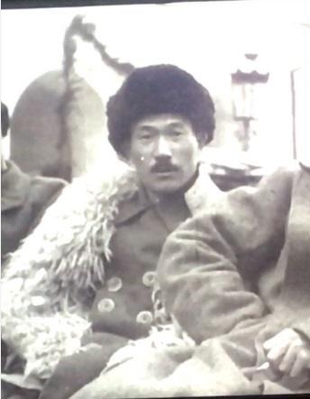 최운산 장군 1922년 모스크바 극동 민족대회에 참석한 최운산 장군