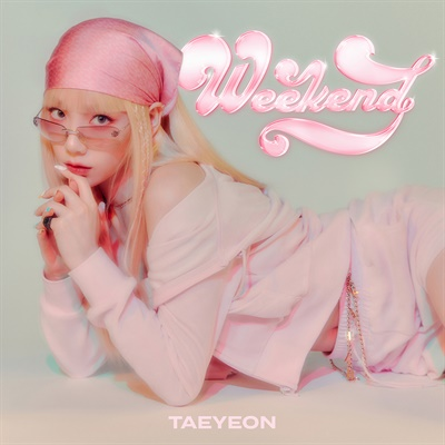 태연 싱글 'Weekend' 이미지.