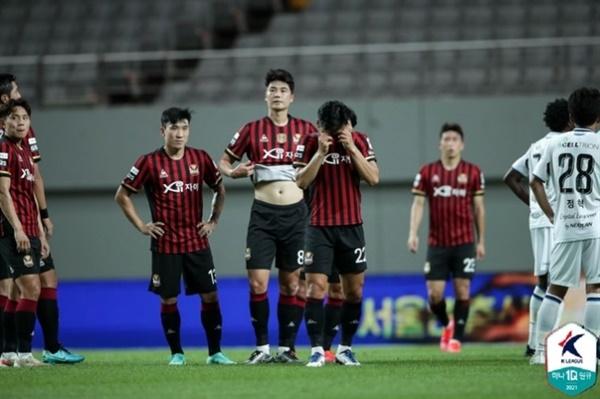 FC 서울 서울이 K리그1 17라운드 인천전에서 패하며, 12경기 연속 무승에 빠졌다.