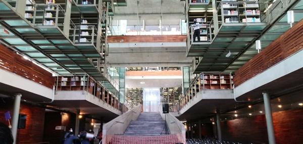 멕시코 바스콘셀로스 도서관에서 화이자 2차 접종을 실시했다