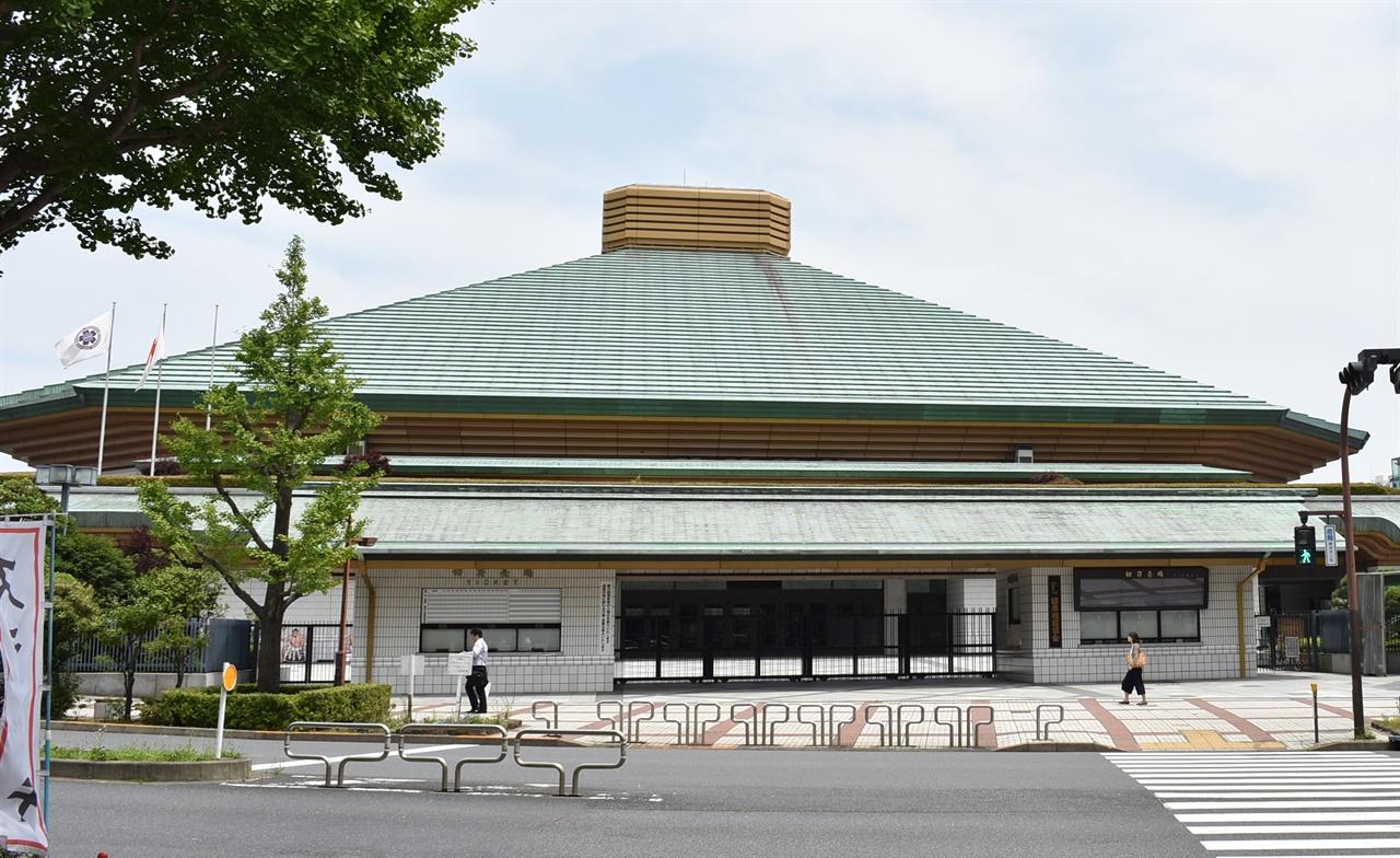 2020 도쿄 올림픽의 복싱 경기가 펼쳐지는 료고쿠 국기관의 모습.(CC-BY-4.0)