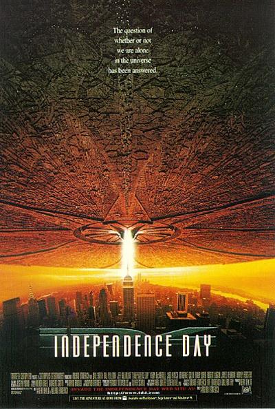 <인디펜던스 데이>는 세계 박스오피스 8억 달러 시대를 연 25년 전의 최고 흥행영화였다.