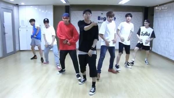 BTS 안무연습