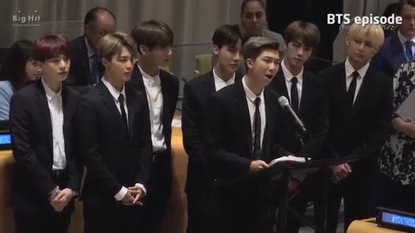 2018년 BTS UN 총회 연설