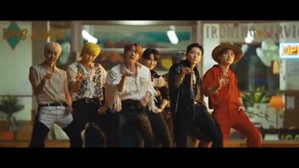 BTS 신곡 <Permission to Dance> 뮤직비디오