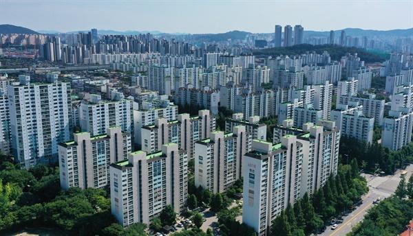 수도권의 한 아파트단지 모습.