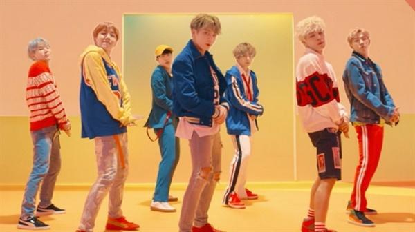 방탄소년단의 'DNA' 뮤직비디오