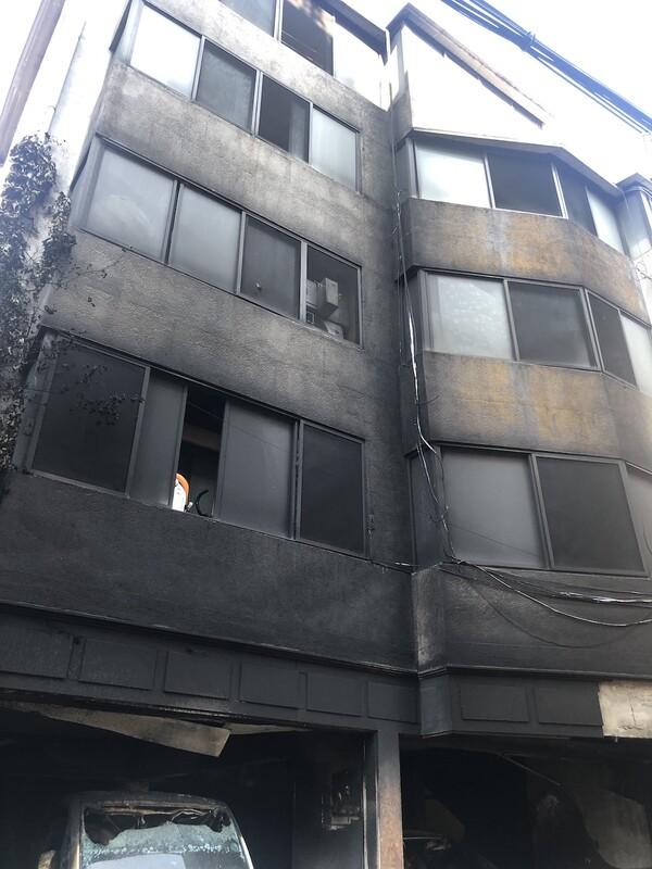 7월 16일 오전 1시 서울 은평구 갈현1동 주민센터 인근에 위치한 다세대 주택에서 화재가 발생했다.