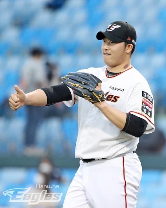 도쿄 올림픽에서 호투하고 있는 김민우
