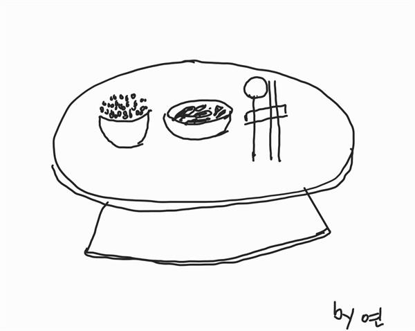 생일상 미역국과 밥 매년마다 차려주었던 아내의 생일상을 더 이상 받을 수 없게 된지 26년이 되었기에 이제는 딸과 며느리가 생일을 챙겨줍니다. '대신'은 절대 할 수 없기에 빈자리가 더욱 큽니다. 소박한 밥 한그릇에 미역국 한 사발도 마냥 행복해 합니다.