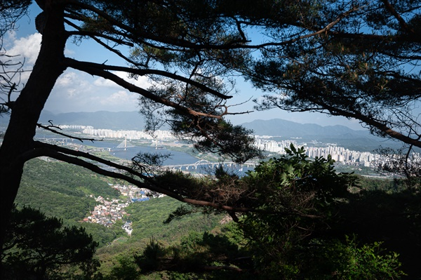 아차산, 사가정공원, 용마산5보루, 아치울 계곡