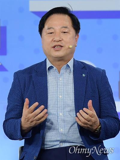더불어민주당 김두관 대선 경선 후보.