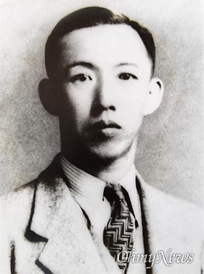 1928년 ㄱ당 사건에 연루돼 옥고를 치른 곽동영 선생.