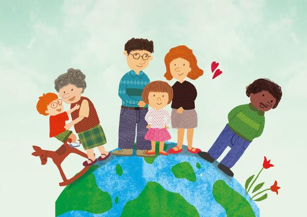 사천시 건강가정·다문화가족지원센터는한때 '다문화' 가족만 지원했으나 지금은 '일반','한부모', '조손', '1 인 가구' 등을 포함한 모든 가족을 돕는다.