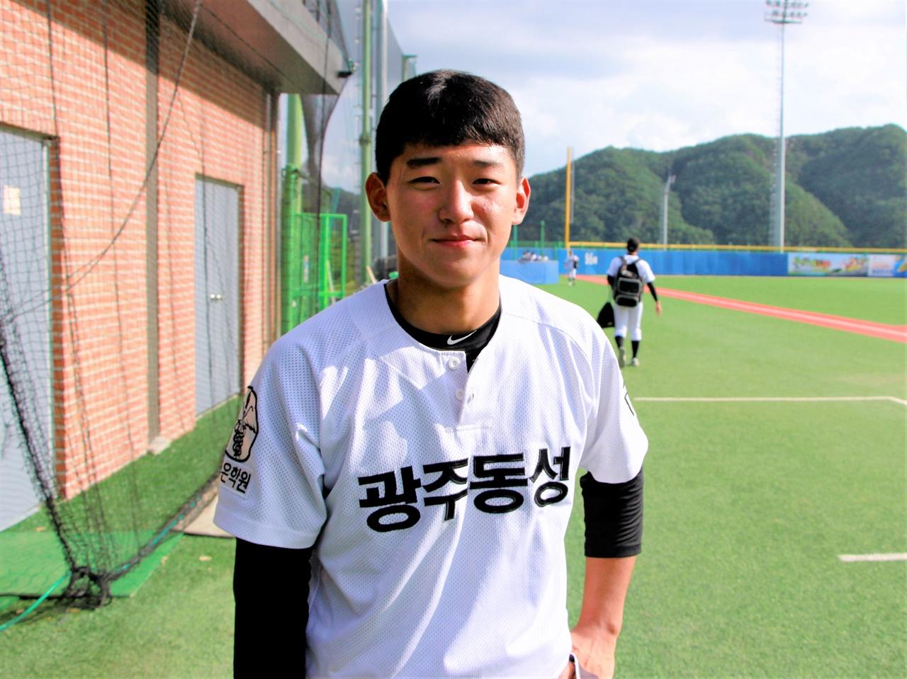광주 지역 1차지명을 두고 벌어진 '문-김대전'의 승자는 광주동성고 김도영 선수가 되었다.