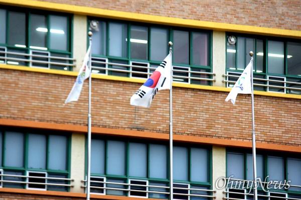 8월 29일 창원 삼정자초등학교.