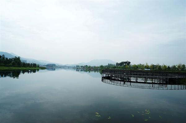 호수공원 풍경