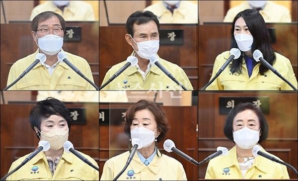 제255회 사천시의회가 9월 2일 개회한 가운데, 이날 1차 본회의에서 시의원 6명이 5분 자유발언자로 나서 지역의 다양한 현안을 짚었다.(사진=사천시의회)