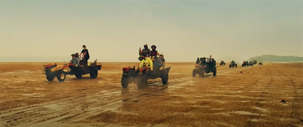 오지리 주민들이 출연하고 한국관광공사가 제작한 서산 홍보영상인 '필 더 리듬 오브 코리아(Feel the Rhythm of Korea)- 서산편'