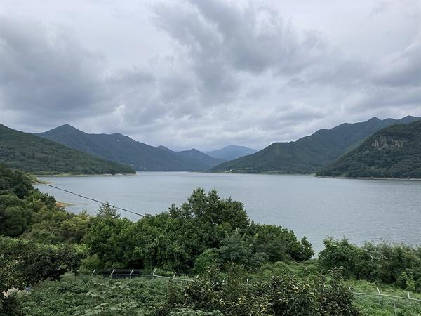 전국 최대 규모의 상수원 전용댐인 청도 운문댐