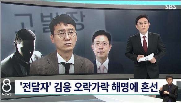 김웅 의원의 고발장 전달 의혹에 대한 오락가락 해명을 비판한 SBS(9/7)