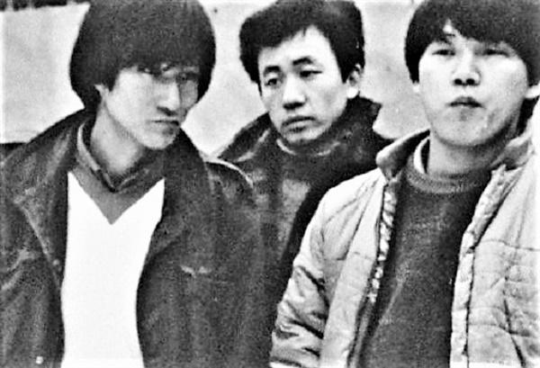 김의석 감독 한국영화아카데미 졸업작품 <창수의 전성시대>에 출연한 안동규 영화세상 대표(오른쪽)