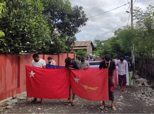 사가잉주 까레이 시민들