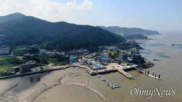 강화군 후포항의 모습.