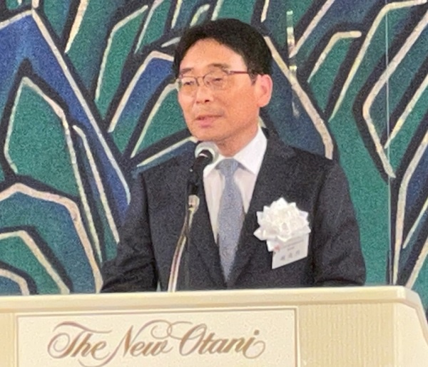 주오사카대한민국총영사관 조성렬 총영사님이 축하 인사를 하셨습니다.?