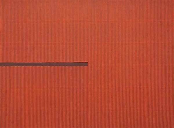 박서보 I 'Ecriture(描法) No.110502' 170×230cm 캔버스에 한지 2011