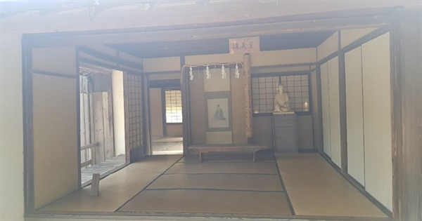 쇼카 손주쿠, 요시다 쇼인이 실제로 가르치던 교실 모습이다.
