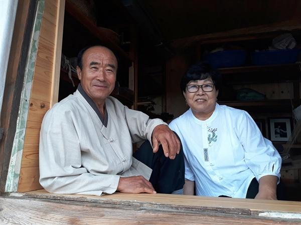 춘포짜기의 전통을 잇기 위해 의기투합한 이석희·김희순 부부. 이들은 서로가 있었기에 힘든 길을 선택했고, 지금도 묵묵히 가고 있다.