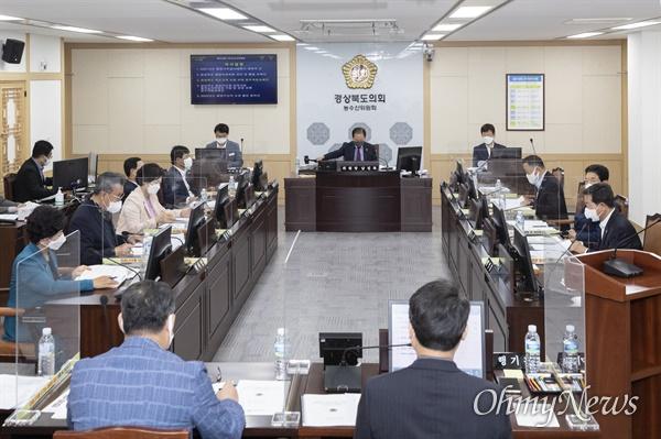경북도의회 농수산위는 지난 5일 상임위를 열어 농어민수당 지급 등에 대한 동의안을 가결했다.