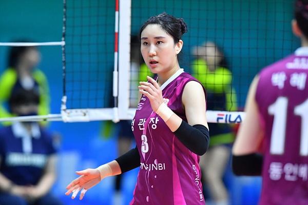 인삼공사의 야전사령관 염혜선은 지난 도쿄올림픽에서도 한국 대표팀의 주전세터로 활약했다.