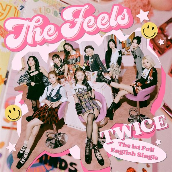 트와이스의 첫 영어 싱글 'The Feels'