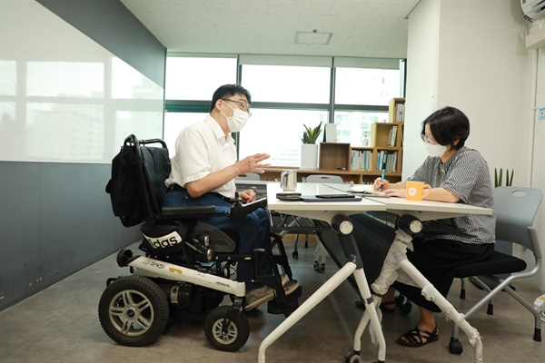 사람사랑양천장애인자립생활센터 김범준 소장