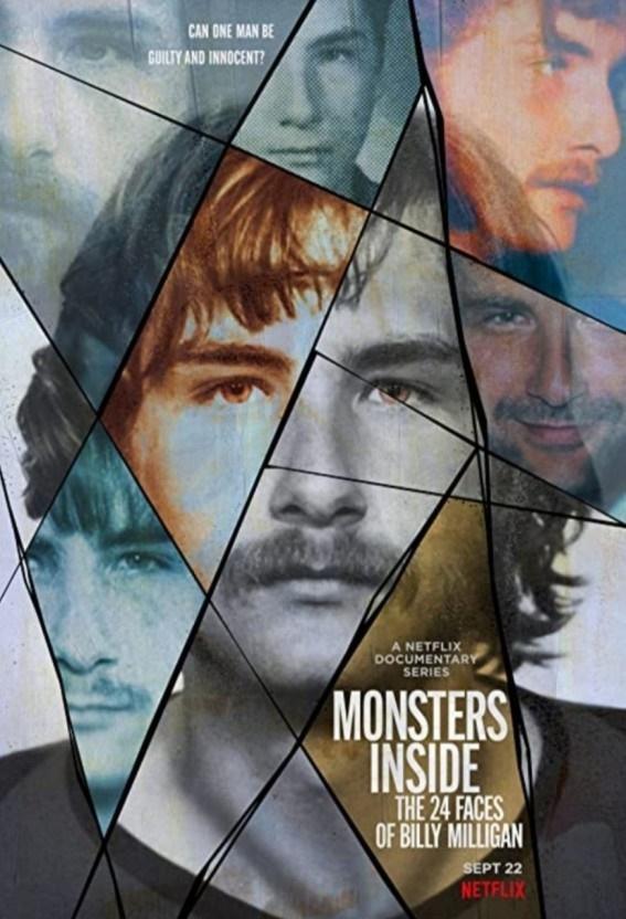 넷플릭스 오리지널 다큐멘터리 <빌리 밀리건, 24개의 인격을 가진 남자> 포스터.